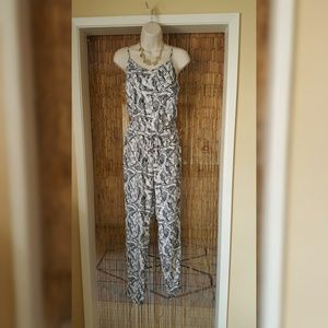 Gorgeous tropical jumpsuit from Banana Republic